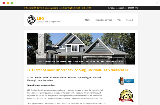 LEO Certified Home Inspections