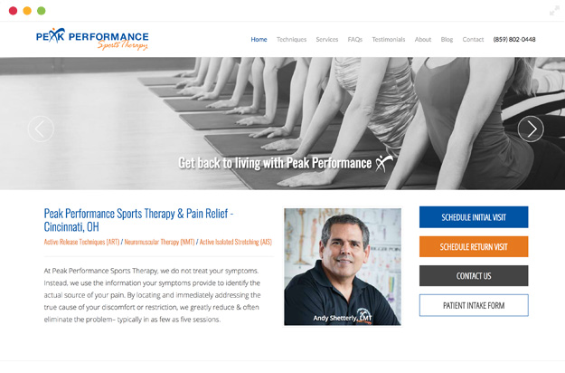 Peak Performance Sports Therapy